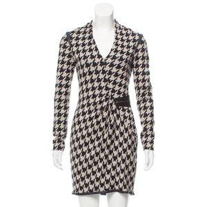Yigal Azrouël New York Houndstooth Designer Dress